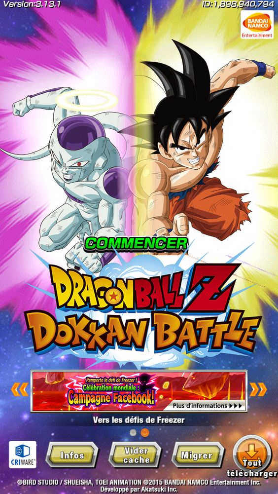 Pin By Emobrandemo On Dragon Ball World Animation Bandai Namco Entertainment Anime