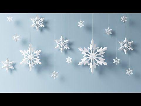 Copos De Nieve Manualidades Ninos