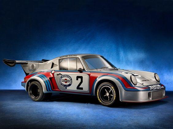 Martini Racing Le Mans 1974 Porsche 911 Carrera RSR Turbo