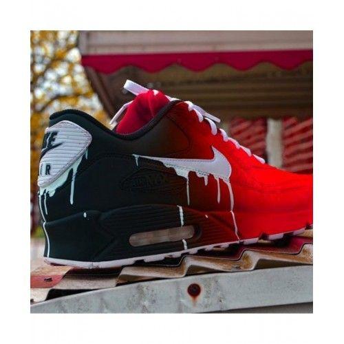 Nike Air Max 90 Candy Drip Black Red
