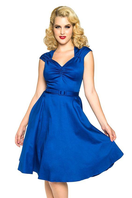 Heidi Dress in Royal Blue