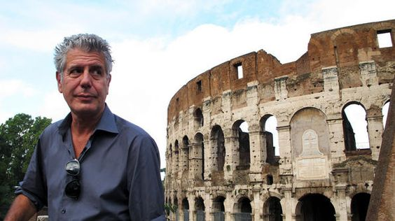 Anthony Bourdain Travel Guide Rome