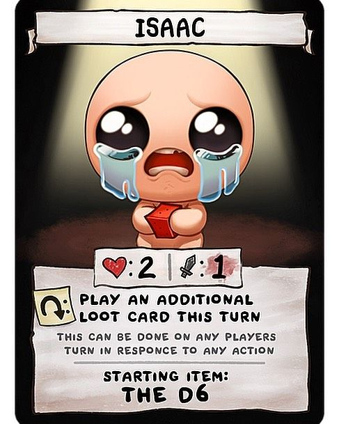 Im Proud To Be A Backer Of The Binding Of Isaac Four Souls This
