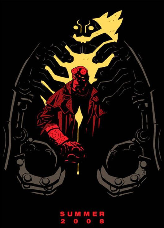 Hellboy 2 Movie Poster - Internet Movie Poster Awards ...