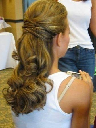 simpele kapsels lang haar