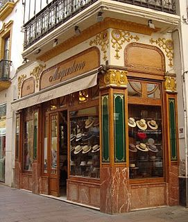 Hat shop - I have visited this one when I had a shop of my own . It was like a dream.  Absolutely love the setting.