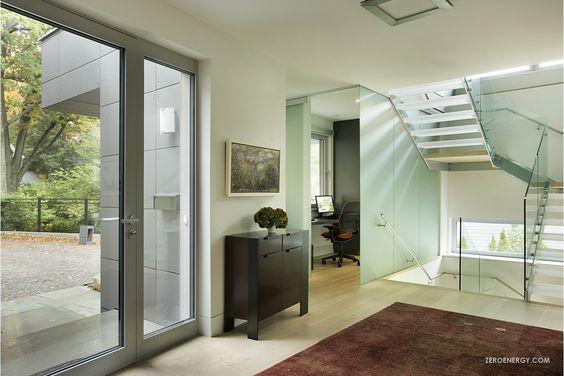brookline green home by modern architect httpzeroenergycomsupersizeslideshowbrooklinehtml pinterest modern architects