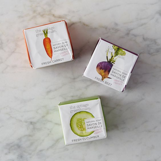 Fresh Carrot Bar Soap