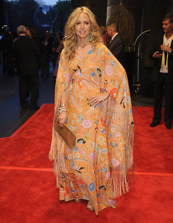 The Most Glamorous Caftan Moments  - TownandCountryMag.com