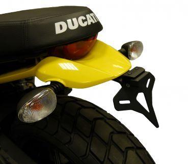 Duc Shop Tirol - Evotech Kennzeichenhalter Ducati Scrambler 800