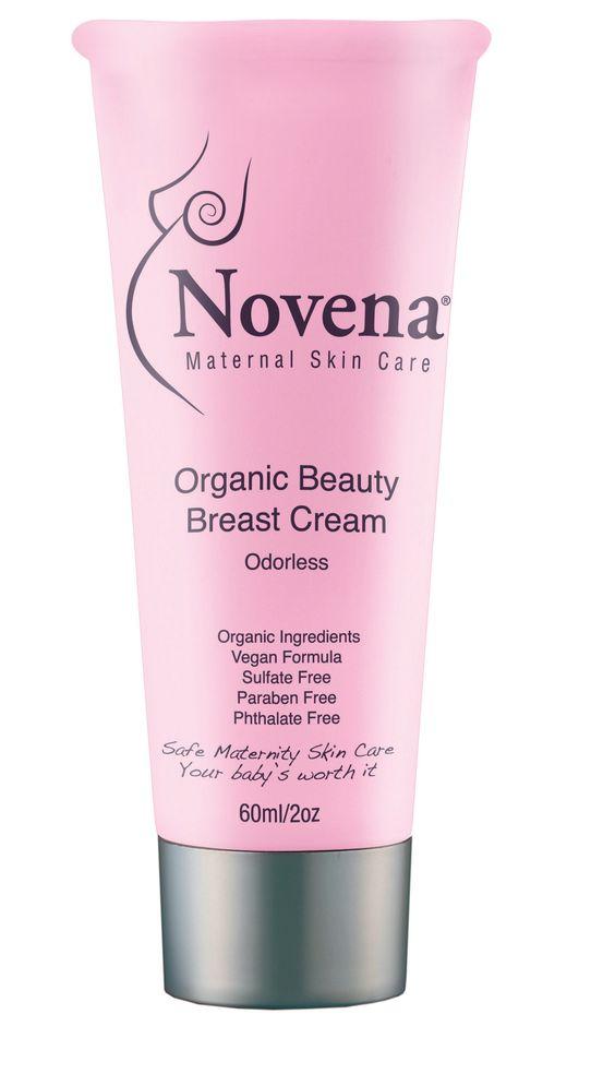 Novena Organic Beauty Breast Cream. A fav of Jessie James Decker