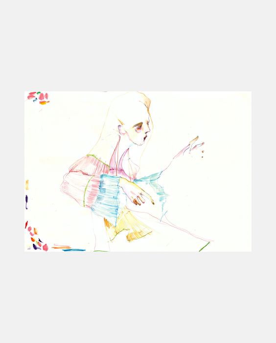 Chloe S/S 16 - SHOWstudio #fashion #illustration