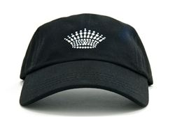 Ladies Baseball Hat with Princess Crown Dolly Mama Designs.  Buy it @ ReadyGolf.com.