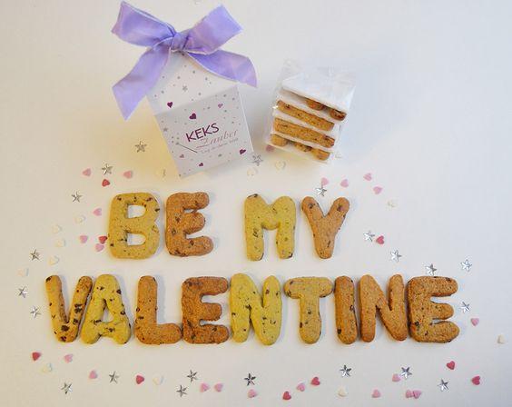 Für alle Verliebten, die auf der Suche nach dem passenden Valtentinstags-Geschenk sind.  #bemyvalentine #valentinstag #valentinstagsgeschenk #KEKSZauber #liebe #geschenk