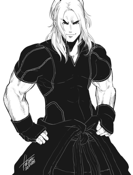 黒の格闘家