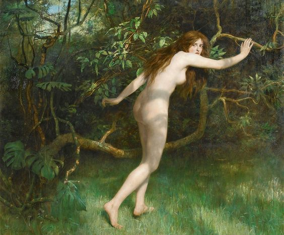 "John Collier (1850-1934), ""Eve"""