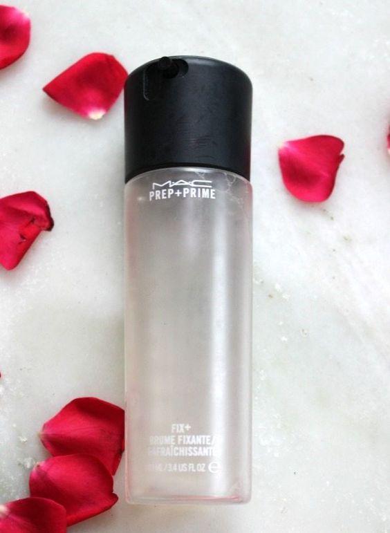 Mac makeup has the perfect setting spray!