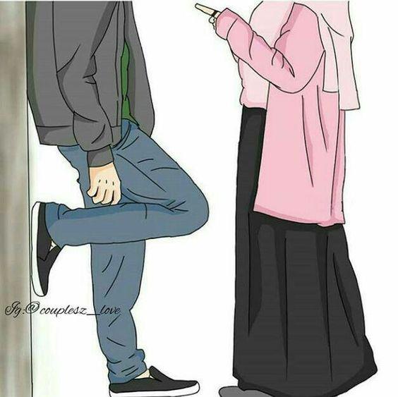 Kumpulan Gambar Kartun Muslimah 17