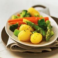 Kartoffel-Spargel-Gericht