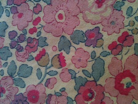 twill Betsy rose + teinture Dylon sunflower = LOVE !