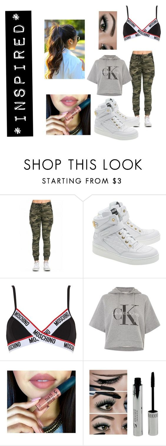 """*INSPIRED*"" by madison-janetx on Polyvore featuring Moschino, Calvin Klein, women's clothing, women, female, woman, misses and juniors"