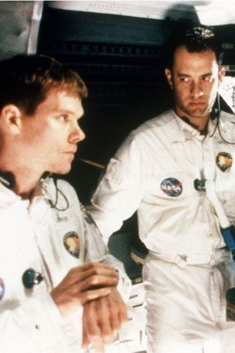 Apollo 13 (1995). Based on the book Lost Moon: The Perilous Voyage of Apollo 13 by Jim Lovell and Jeffrey Kluger (1994).
