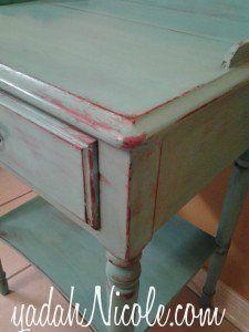 Painted furniture: Cottage Blue Charm  http://www.yadahnicole.com/2013/10/20/cottage-blue-charm/