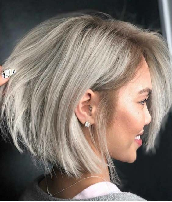 40 Best Short Ash Blonde Haircut Styles For 2018 Cheveux Fins