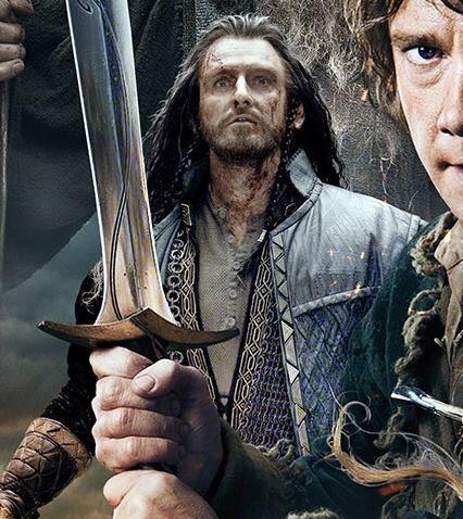 Thorin, Bilbo, and Sting, BOTFA