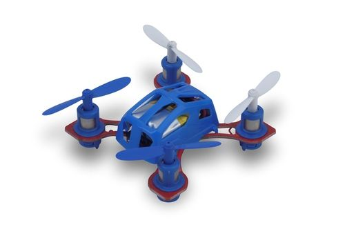 Microgear 2.4 GHz. Radio Controlled QX-288 Mini Gyro Quadcopter Blue