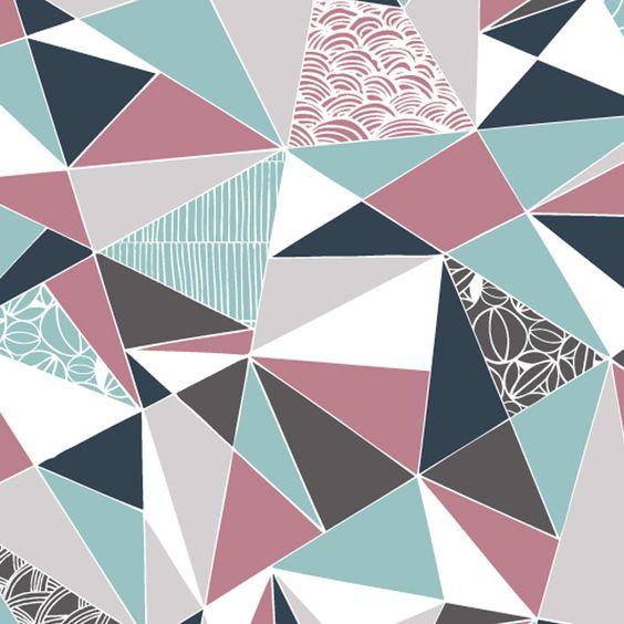 Modern Geometric Patte...