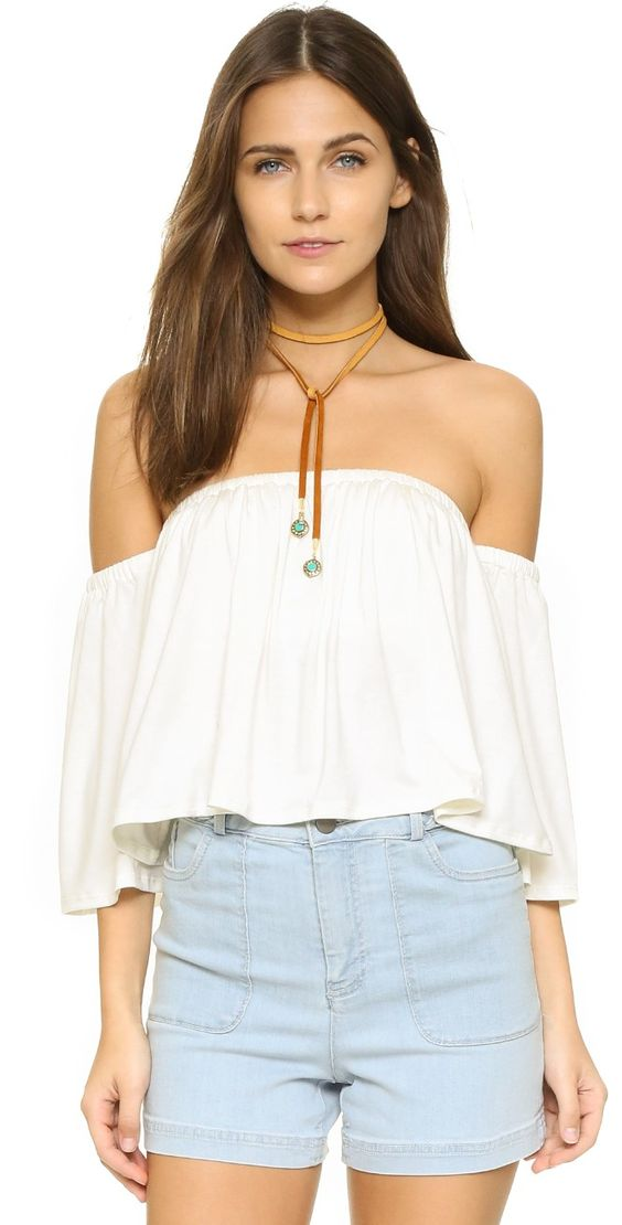 Rachel Pally Esmeralda Top | SHOPBOP