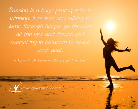 Let your passion fuel your action to empower you to create success. <3