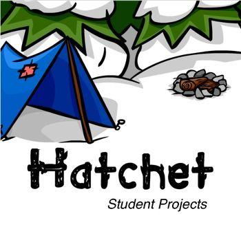 Hatchet - Student Projects - 10 activities designed as long-range student projects or unit summative assessment tasks for Gary Paulsen's Hatchet. $