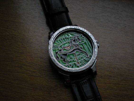 Enamel cloisonne. ( dial watch, icon, etc....) - Page 2 C5822ba2e376923d134e36ec3a23bcb1