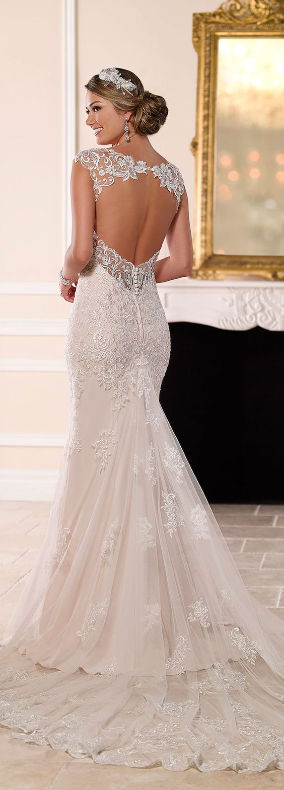Stella York Spring 2016 Bridal Collection #WeddingDress