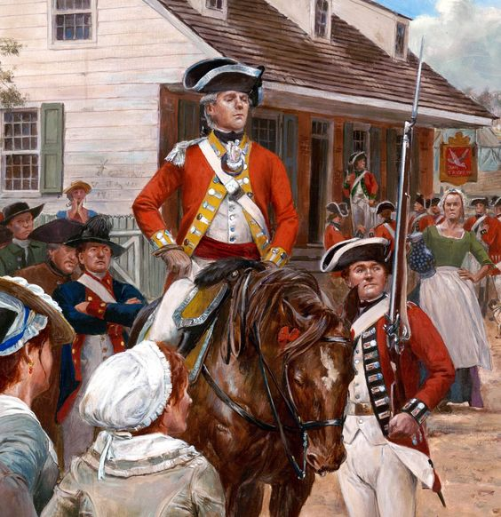 British redcoats in Boston | American Revolution Art | Pinterest