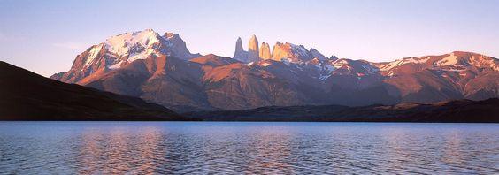 Atardecer en las Torres del Paine