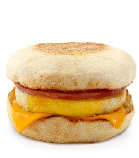 One of the most iconic breakfast sandwiches of all time: The Egg McMuffin