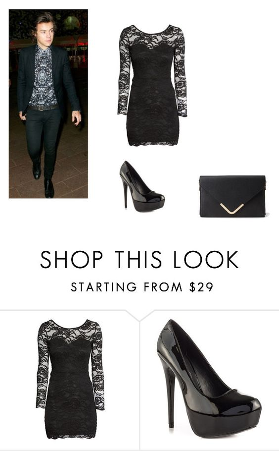 """Party with Harry"" by liamismybabe ❤ liked on Polyvore featuring H&M, BRIT*, ALDO, Forever 21 and harrystyles"