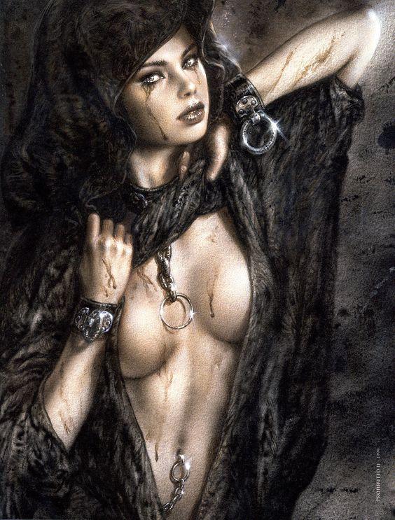 Luis Royo - Prohibited II....My absolute favorite one of His~ !!!! ~angel-eyez~
