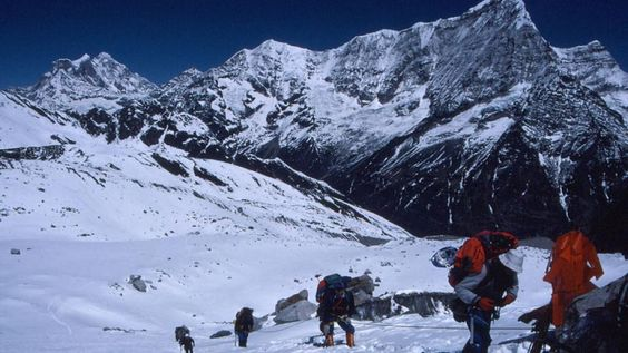 Ramdung Peak Climbing, This is one of several appealing small peaks south of Na, best approached by crossing the Yalung La. These peaks were first climbed in 1952 by the Scottish Himalayan Expedition led by W. H. Murray. Although not a high peak, the approach is quite long for most parties two camps above Kyiduk will be required.