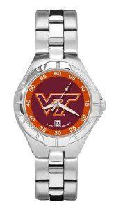 Virginia Tech Woman's Pro II Bracelet Watch Logo Art. $74.55