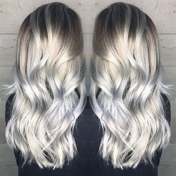Pale blonde to silver hair color by Janai Hart a.k.a. @harttofcolor blonde hair platinum blonde hair blonde balayage blonde ombre hotonbeauty.com