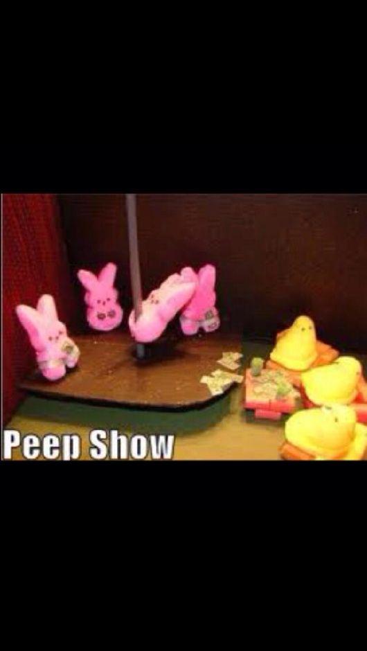 Eat your peeps! ;)