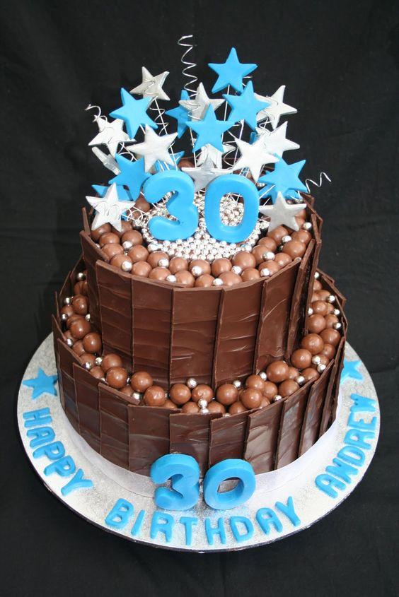 The  Best Male Birthday Cakes Ideas On Pinterest Happy - Good birthday cake ideas