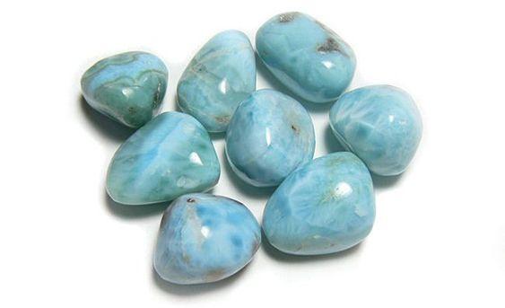 Larimar pierres - Harmonie Chakras