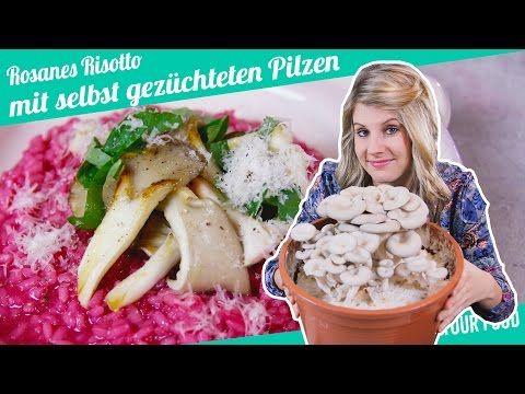 Rosa Risotto mit selbst gezüchteten Pilzen | Felicitas Then | Pimp Your Food - YouTube