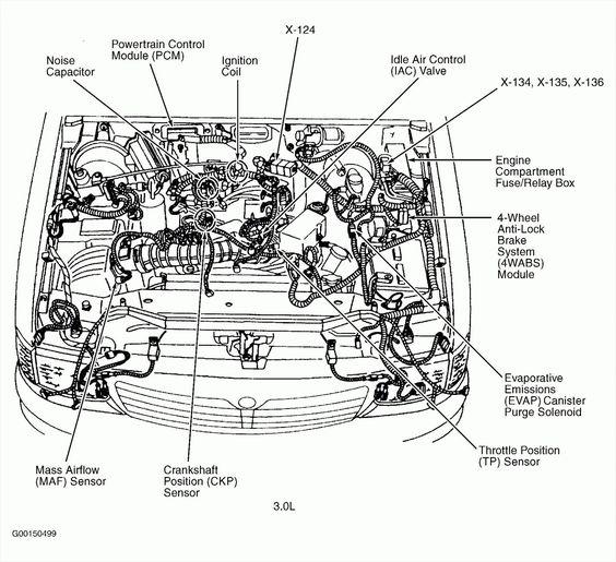 6 Ford Focus Engine Parts Diagram Taurus Ford Diagram