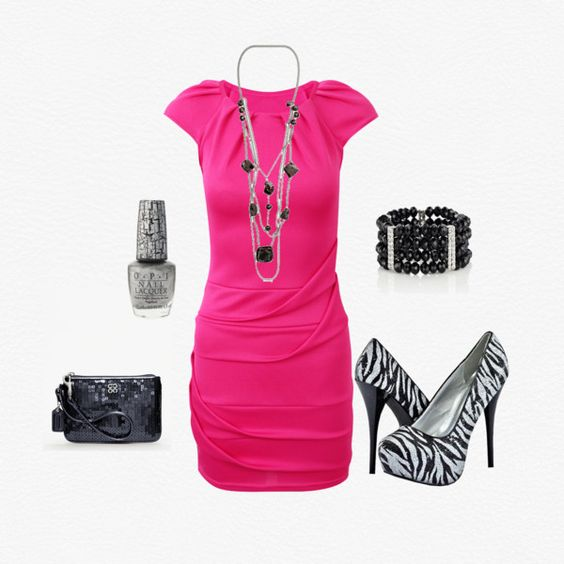 pink and zebra..wow
